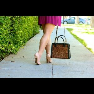 Vera Bradley Bags - Vera Bradley Leopard Natalie Satchel!